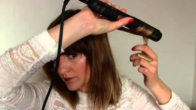 realiser une coiffure wavy