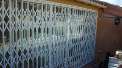 grille extention métallique