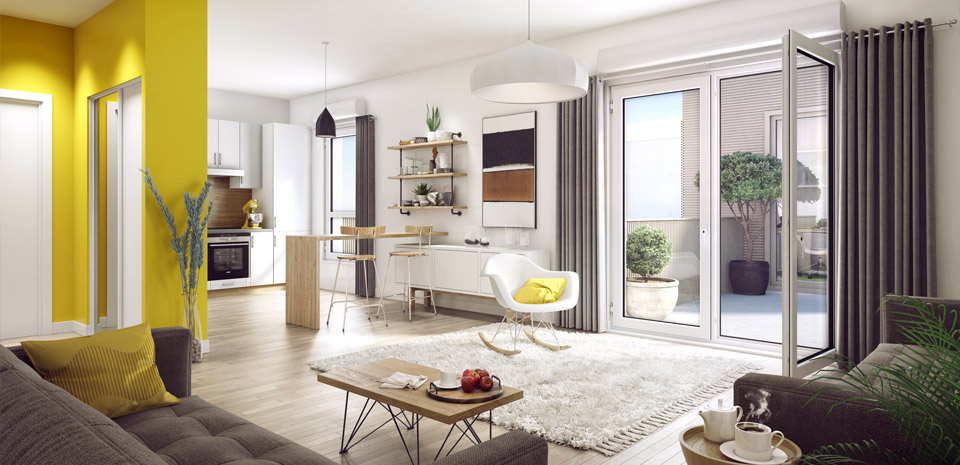 comment optimiser l espace dans votre appartement articles du net. Black Bedroom Furniture Sets. Home Design Ideas
