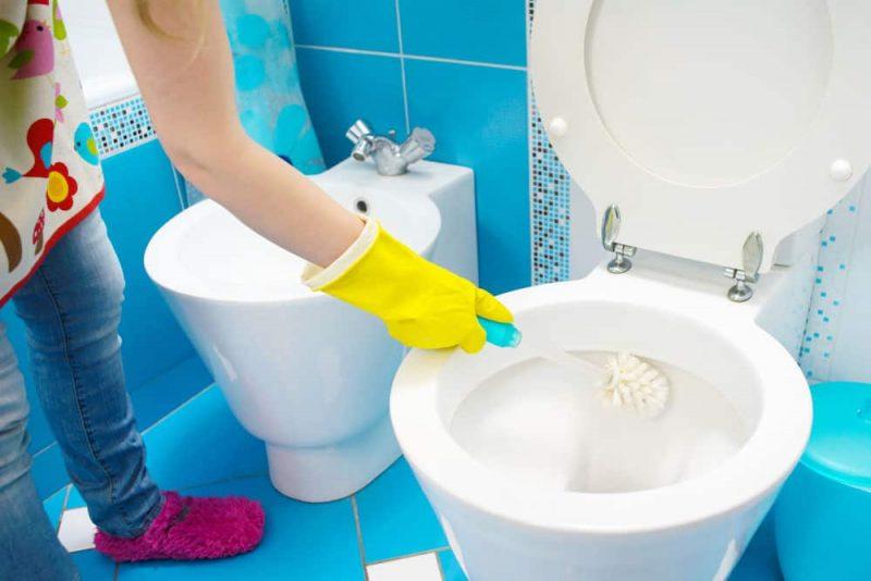 Endroits à nettoyer frequemment