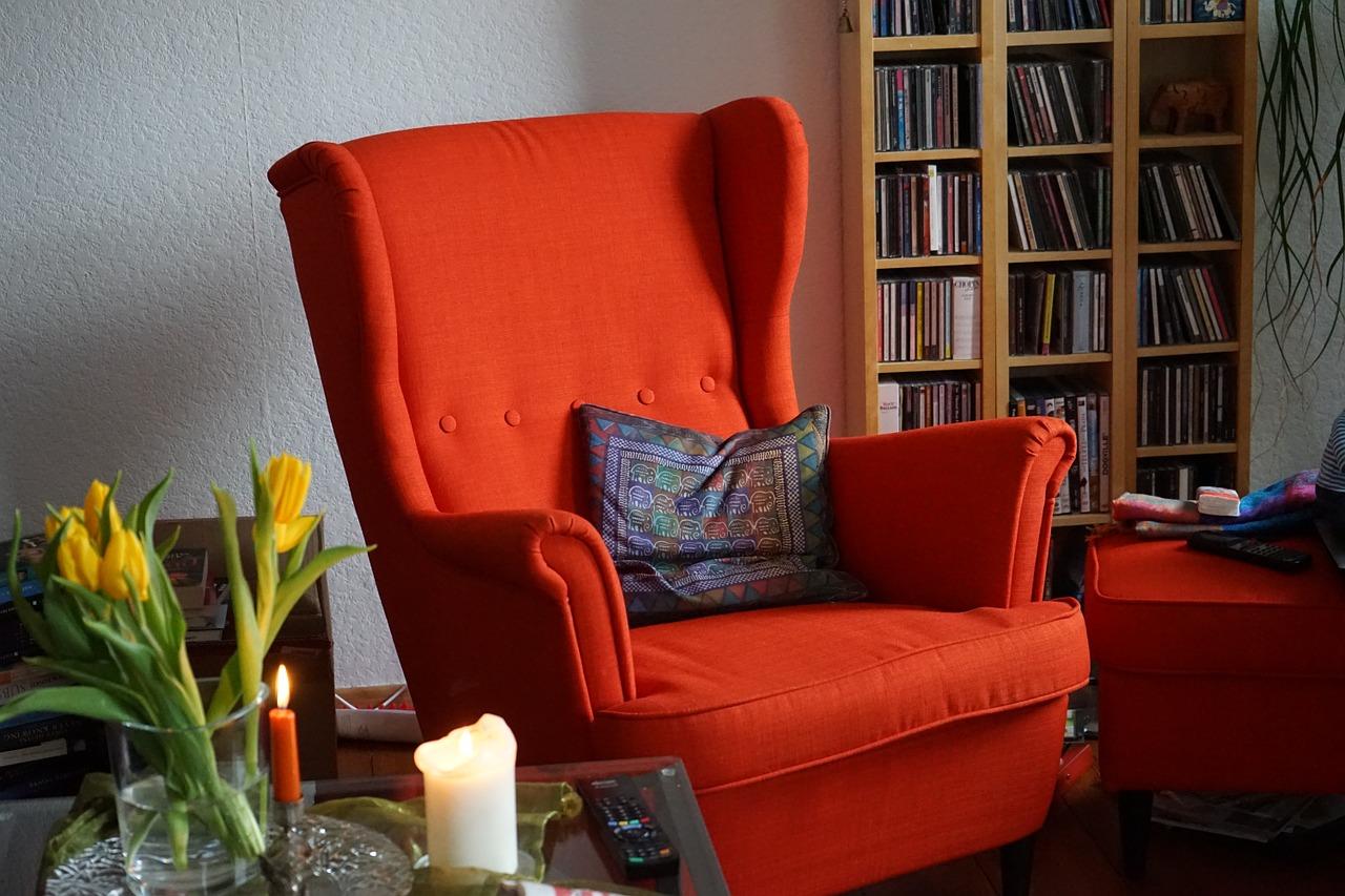 chaise chauffante