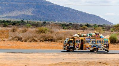 road trip au Kenya